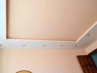 Подвесные потолки из гипсокартона, фото и видео: как сделать монтаж своими руками