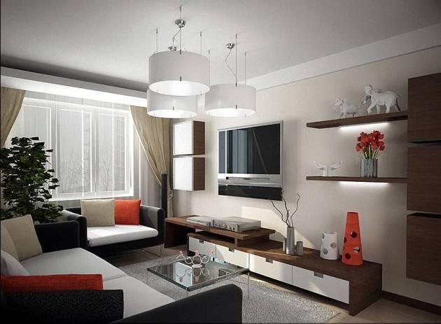 Дизайн гостинной комнаты 19 кв метров: 70 реальных фото интерьера в панельном доме, выбор стиля, советы