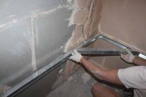 Не знаете как выровнять стены в ванной? обзор современных методов и рекомендации по технологии