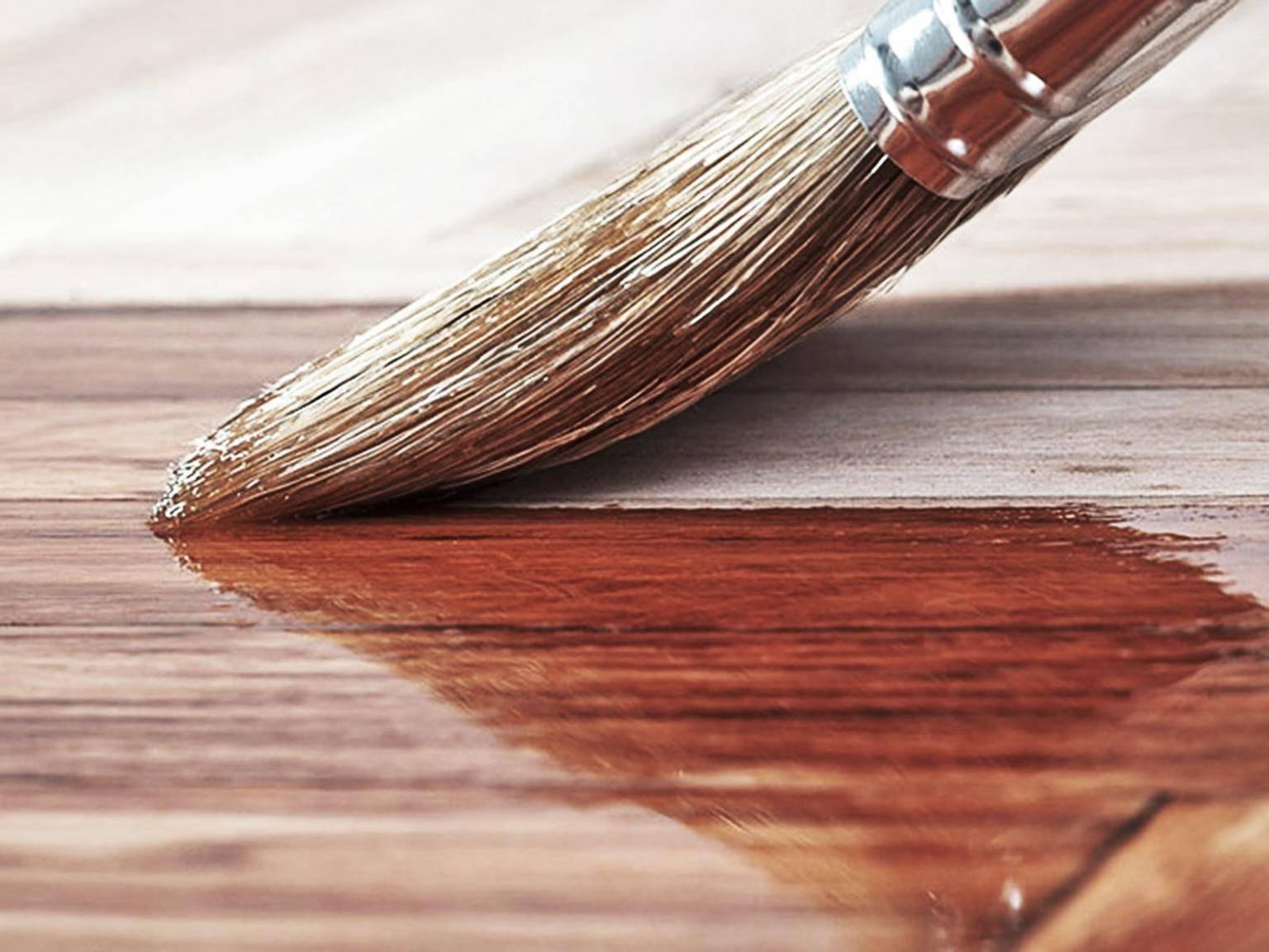 Обработка деревянных поверхностей маслом биофа — защита и сохранение текстуры