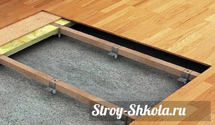 Стяжка на деревянный пол: варианты монтажа и инструкция, как сделать стяжку своими руками