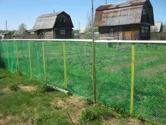 Как сделать сетку-рабицу непрозрачной? 40 фото чем закрыть забор от соседей? затеняющие маскировочные сетки. что посадить вдоль забора?