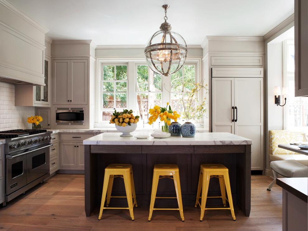 Интерьер кухни 11 кв м — современные фото