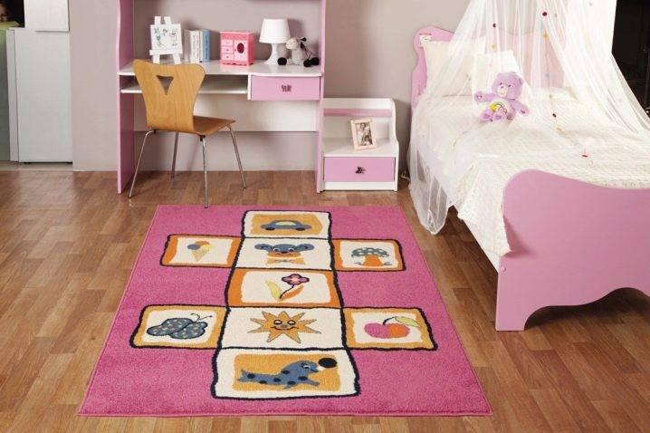 Ковер в детскую комнату - 150 фото изысканных вариантов в интерьере детской комнаты