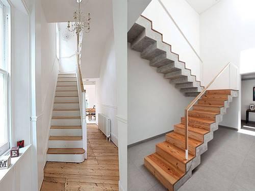 Отделка лестницы ламинатом: обшивка ступеней ламинатом своими руками
