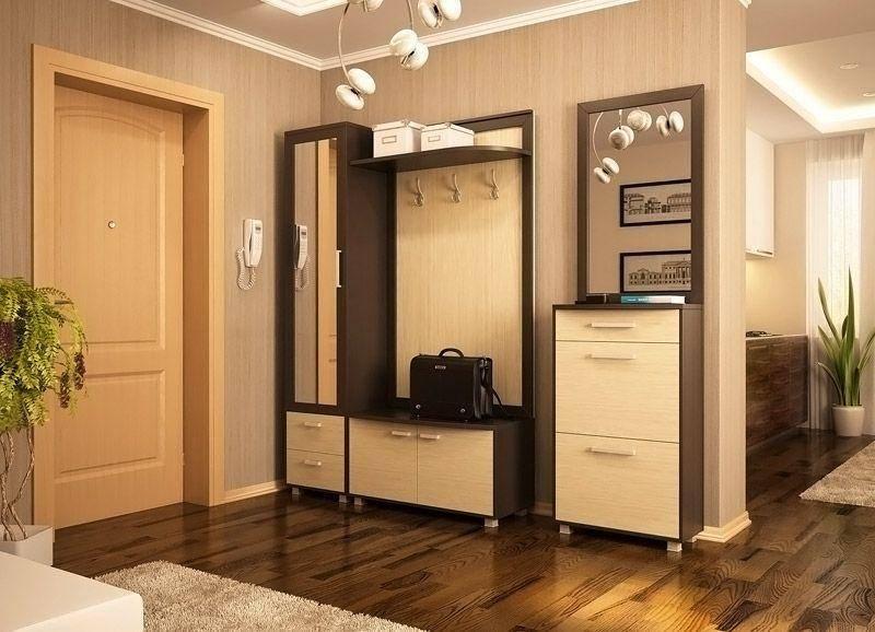 Шкафы в маленькую прихожую (40 фото): малогабаритные варианты в длинный узкий коридор, идеи дизайна, вместительные модели с зеркалом и с закругленным углом