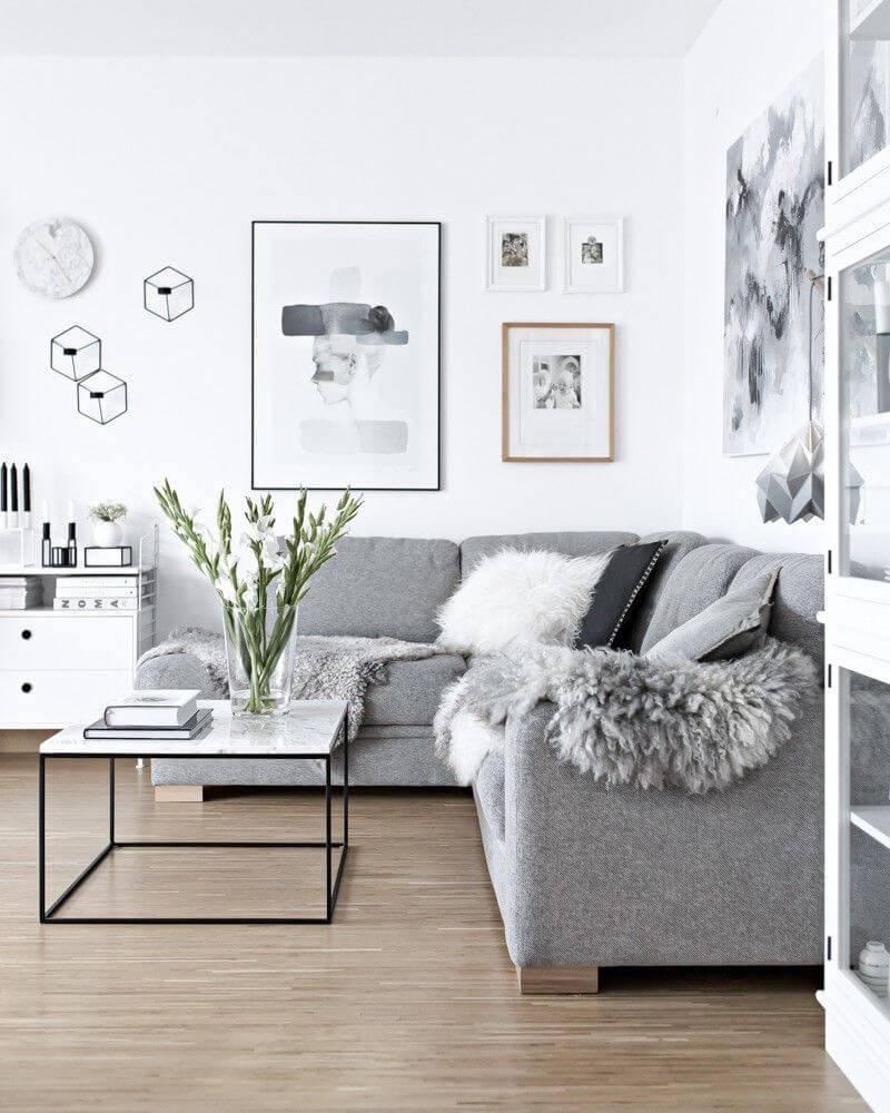 Скандинавский стиль в интерьере: характерные черты, фотопримеры