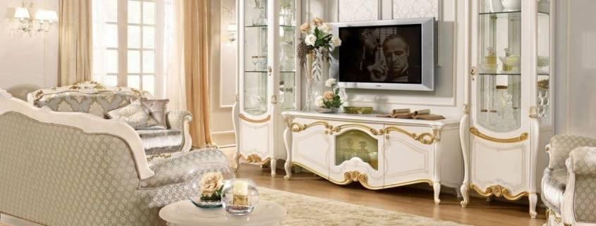 Гостиная барокко: 85 фото красивых идей и лучших вариантов применения классического дизайна