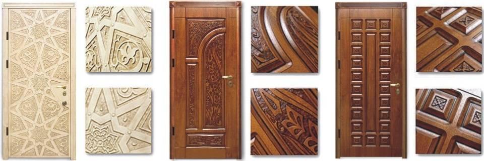 Накладка на входную дверь: элегантное обновление полотна