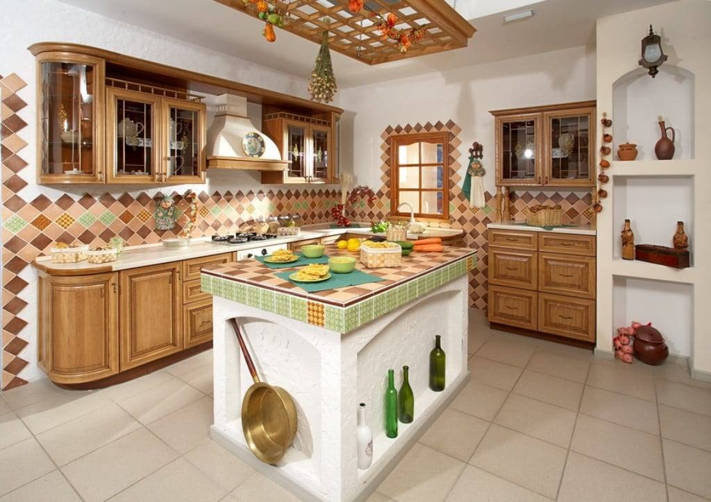 Кухня в стиле кантри (52 фото): в деревенском интерьере, декор маленькой гостиной, прованс, отделка стен, белая мебель