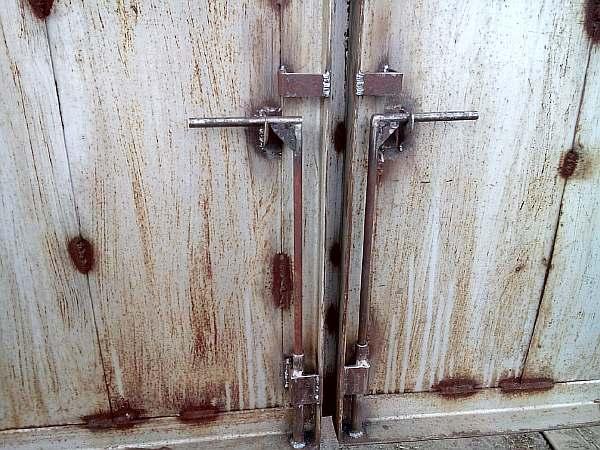 Запорные устройства для ворот - всё о воротах и заборе