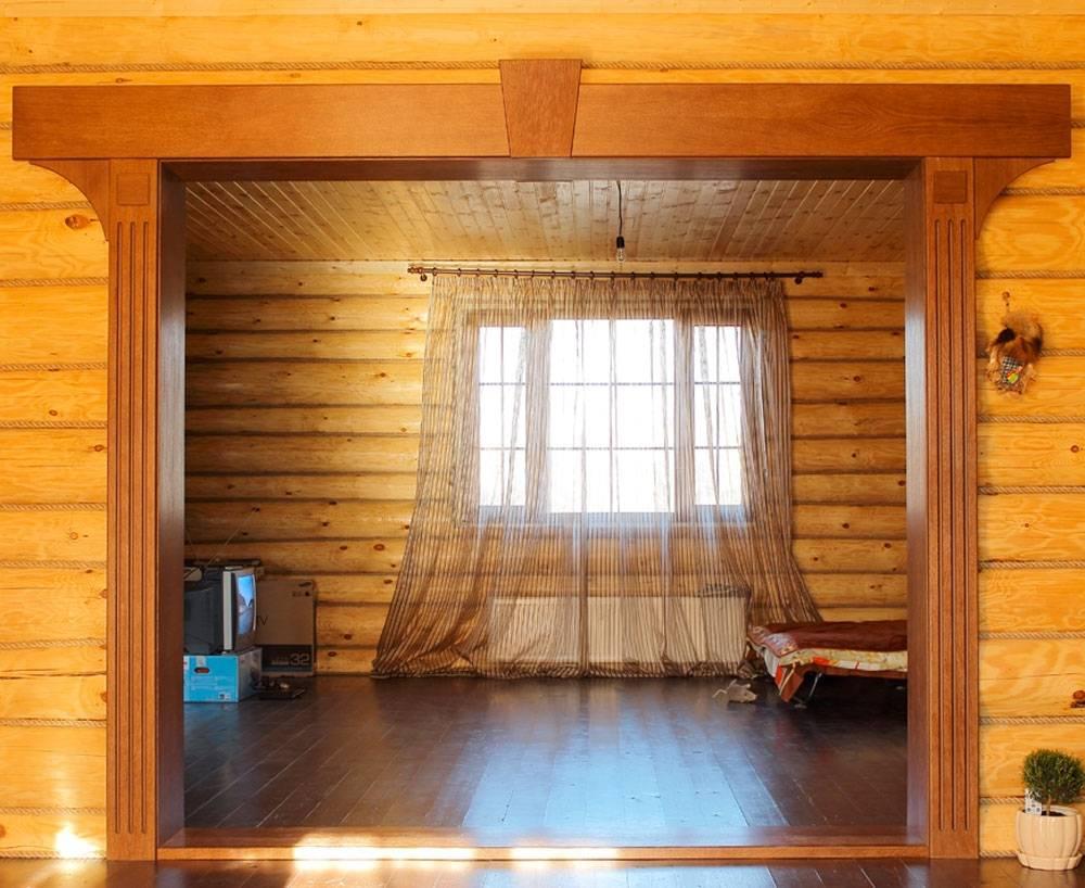 Дверной проём из гипсокартона: прямая конструкция стены, арка, отделка