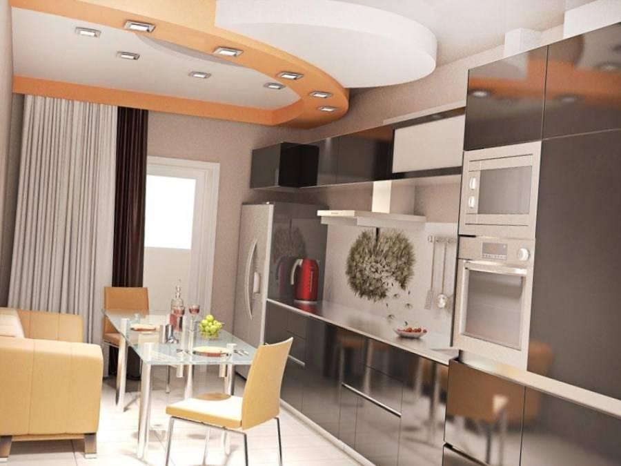 Планировка кухни-гостиной 12-13 кв. м: лучшие варианта дизайна и интерьера