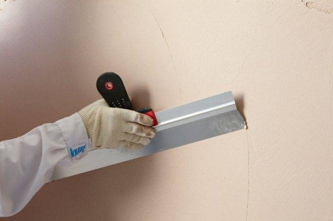 Шпаклевка стен своими руками: как правильно нанести пошагово