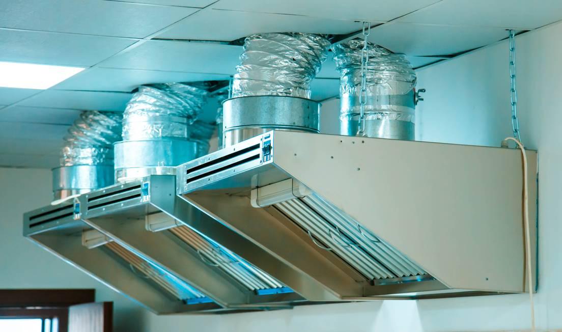 Методы и оборудование для очистки вентиляции