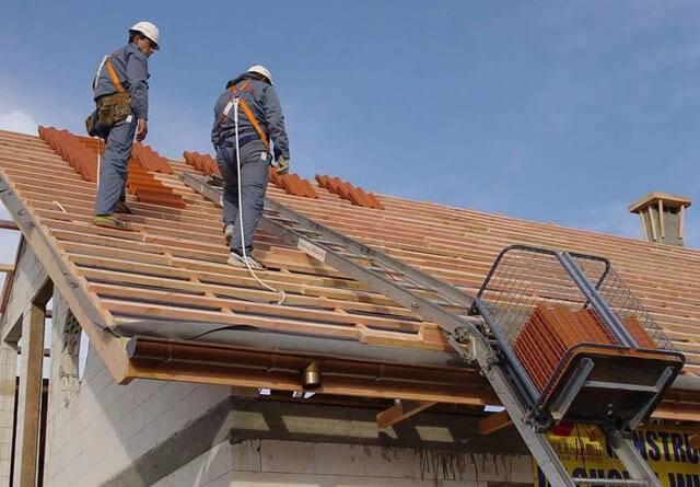 ➤ виды страховок при работе на крышах   мы строители ✔1