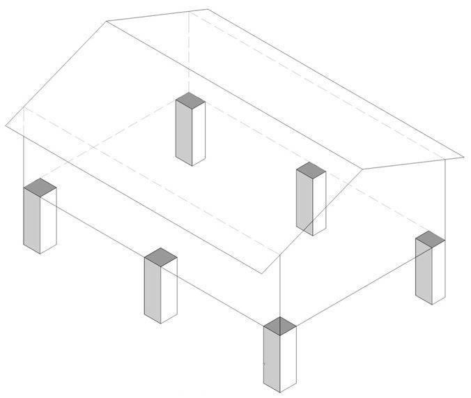 Без особого труда: столбчатый фундамент для дома