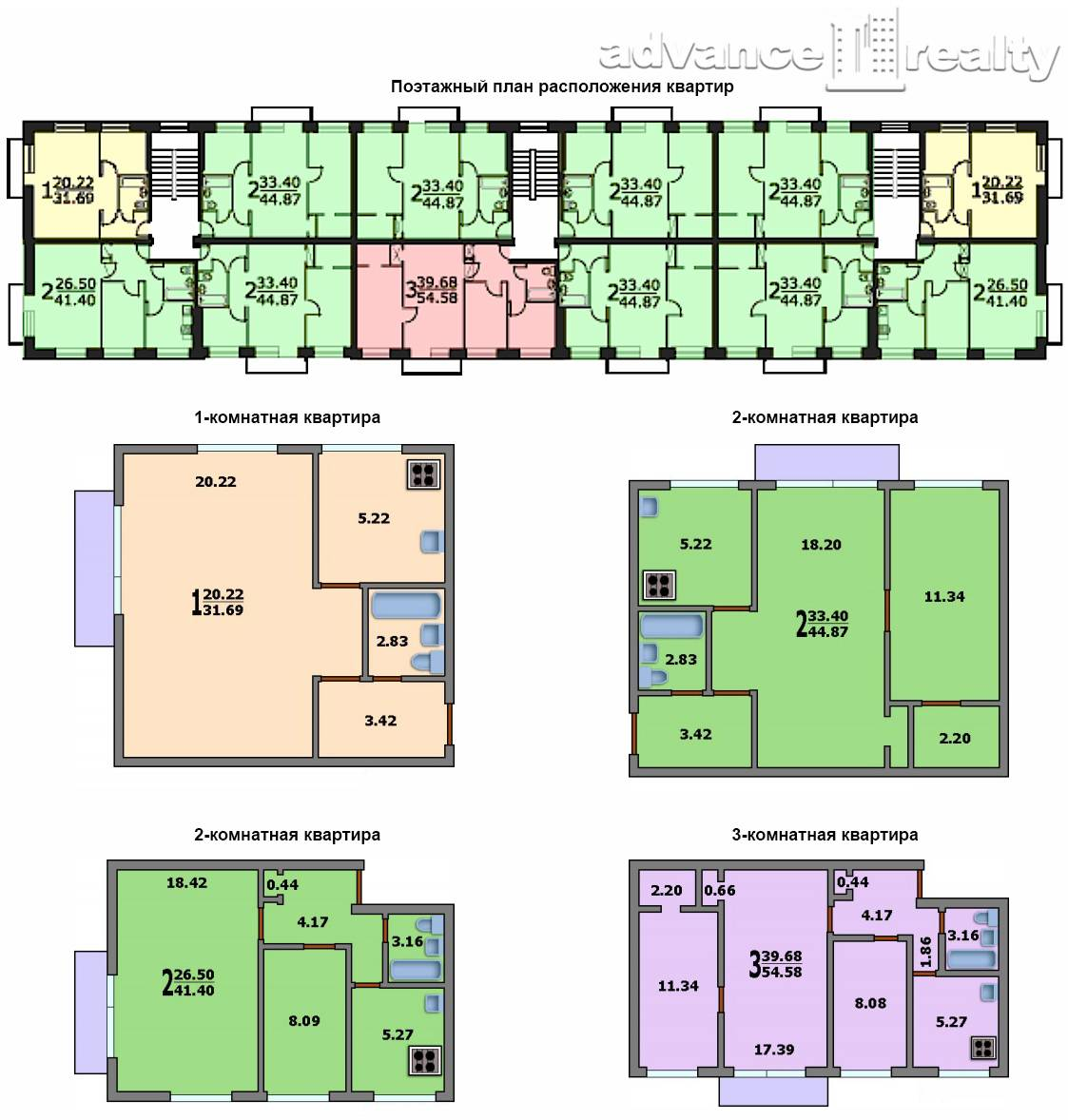 Планировка 3-х комнатной квартиры в хрущевке