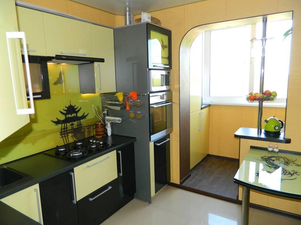 Кухня в хрущевке: дизайн, фото, планировка маленькой кухни