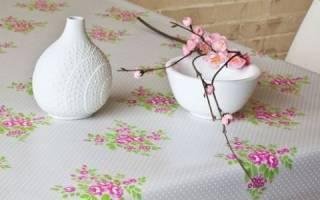 Скатерть для стола своими руками – неповторимый декор любой кухни