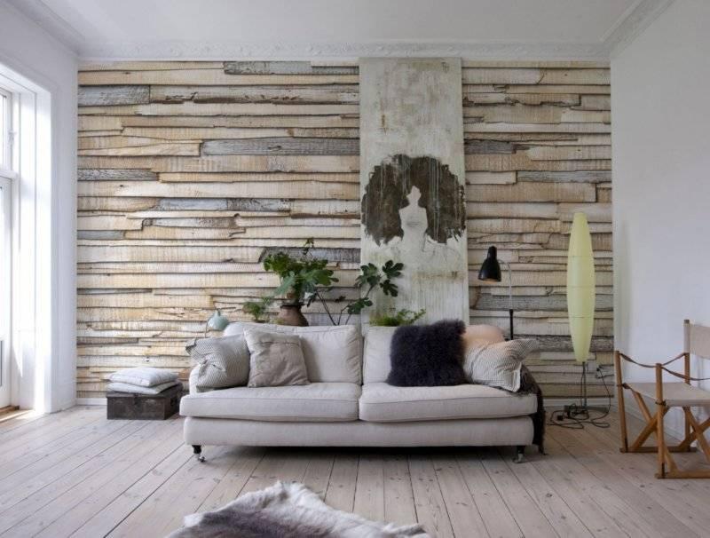 Отделка стен деревом - преимущества, недостатки и варианты