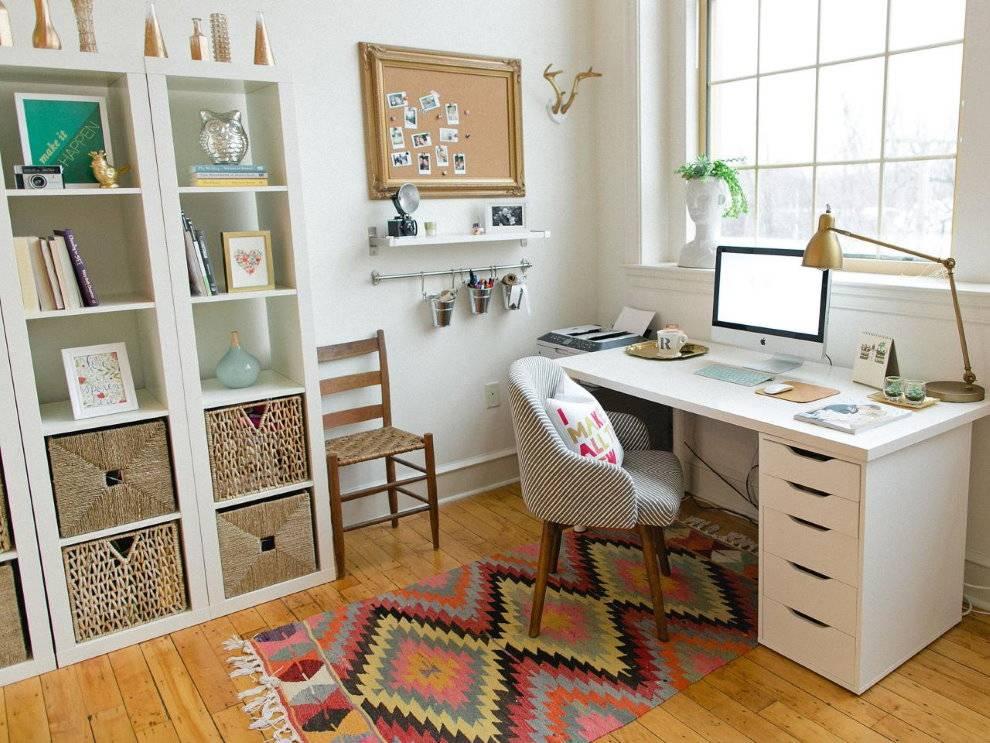 Дизайн кабинета 2020-2021: интерьер домашнего офиса, оформление рабочей зоны дома - фото