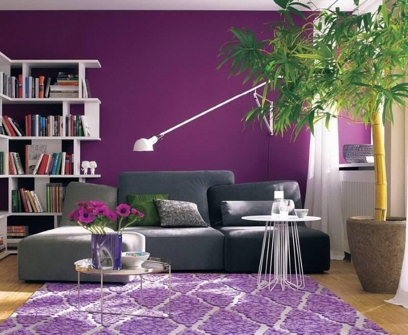 Лавандовый цвет в интерьере: подборка лучших интерьеров с советами по оформлению