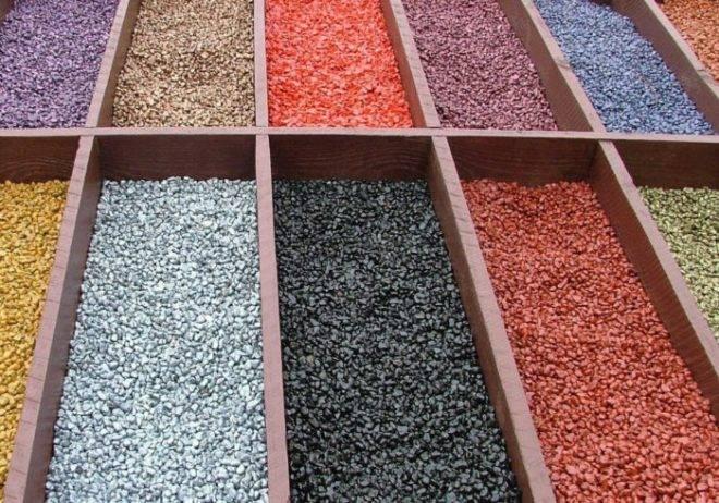 Технология покраски щебня в промышленных масштабах. производство цветного щебня и крошки декоративной. подготовка камня перед покраской