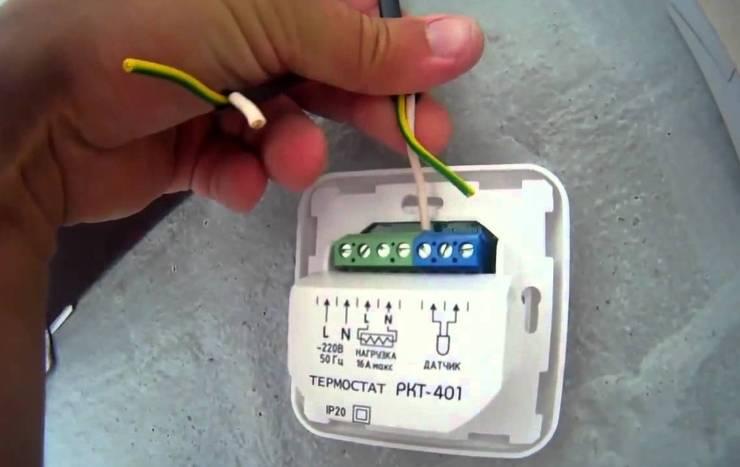Датчик температуры теплого пола: как установить и подключить термодатчик своими руками в квартире или доме? как правильно произвести монтаж и какие нюансы бывают во время установки