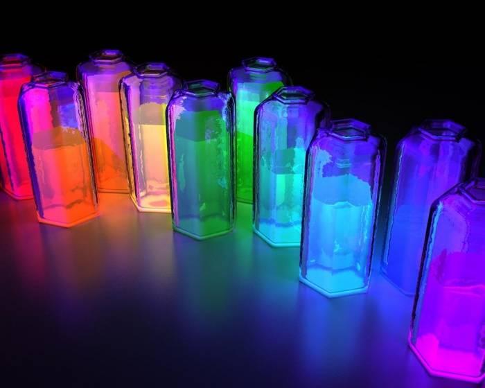 Как сделать светящуюся в темноте краску в домашних условиях видео