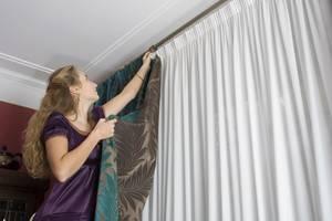 Как сшить шторы на люверсах своими руками – инструкция