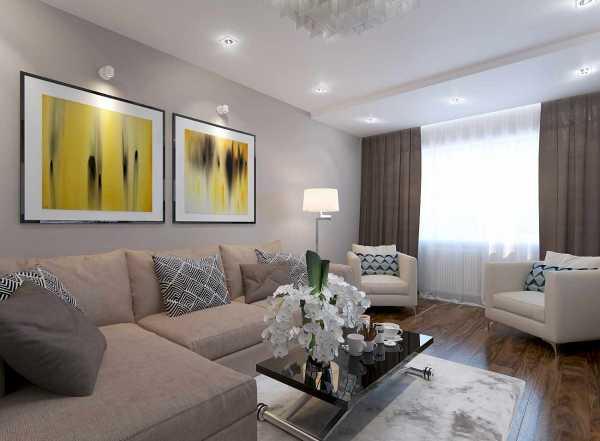 Кухня-гостиная 17 кв. м: дизайн, фото с зонированием, с диваном, квадратная и прямоугольная, совмещение, планировка