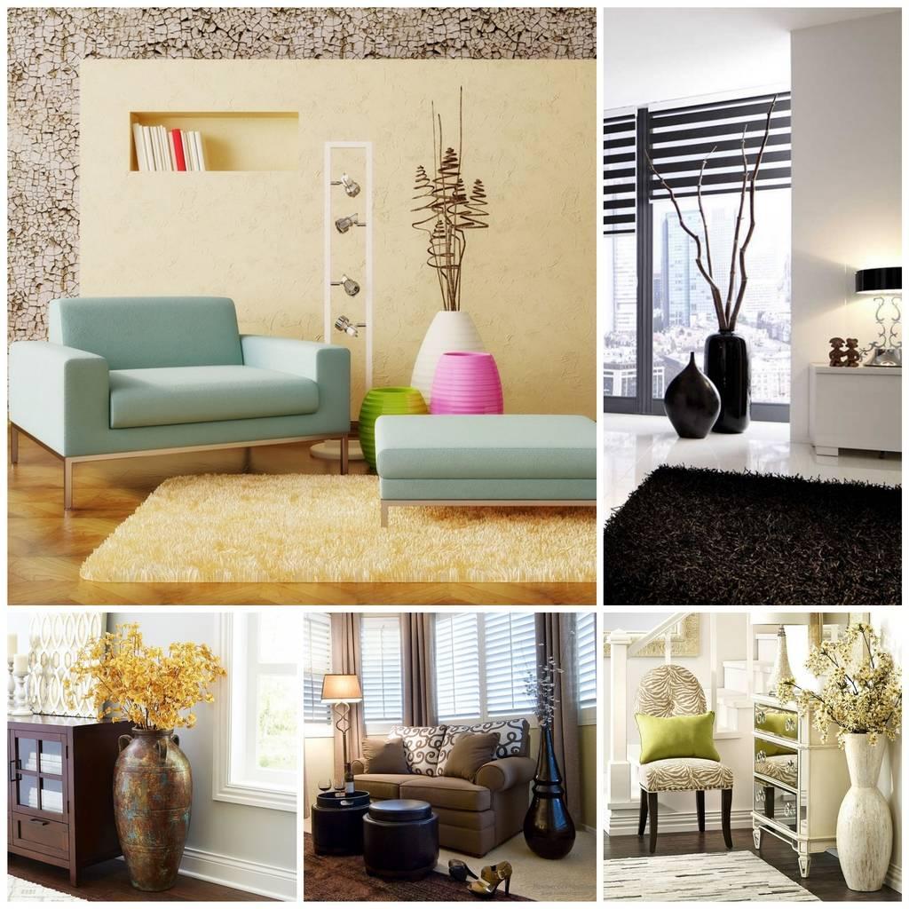 Вазы (68 фото): выбираем красивые большие синие и серебряные изделия для уличных цветов и декора интерьера