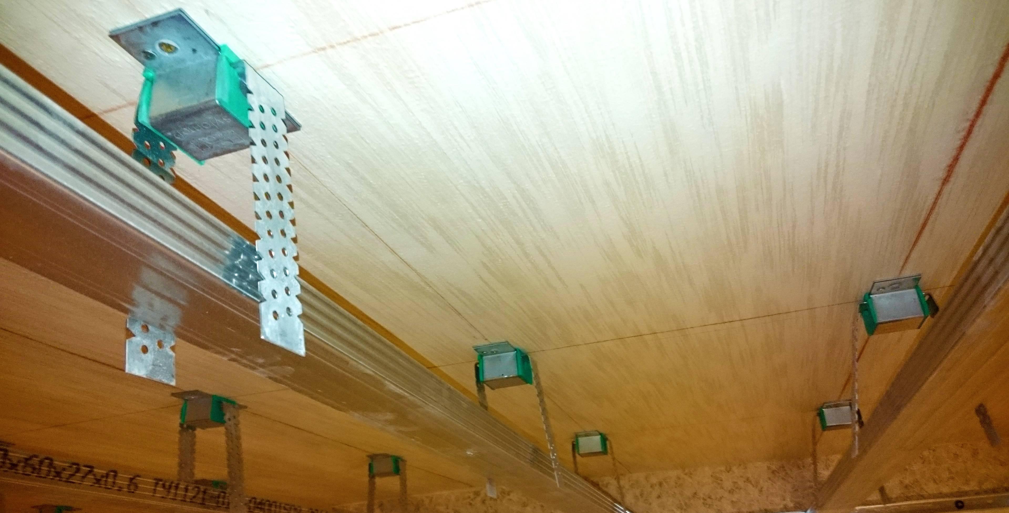 Виброподвесы для гипсокартона: конструкция и применение