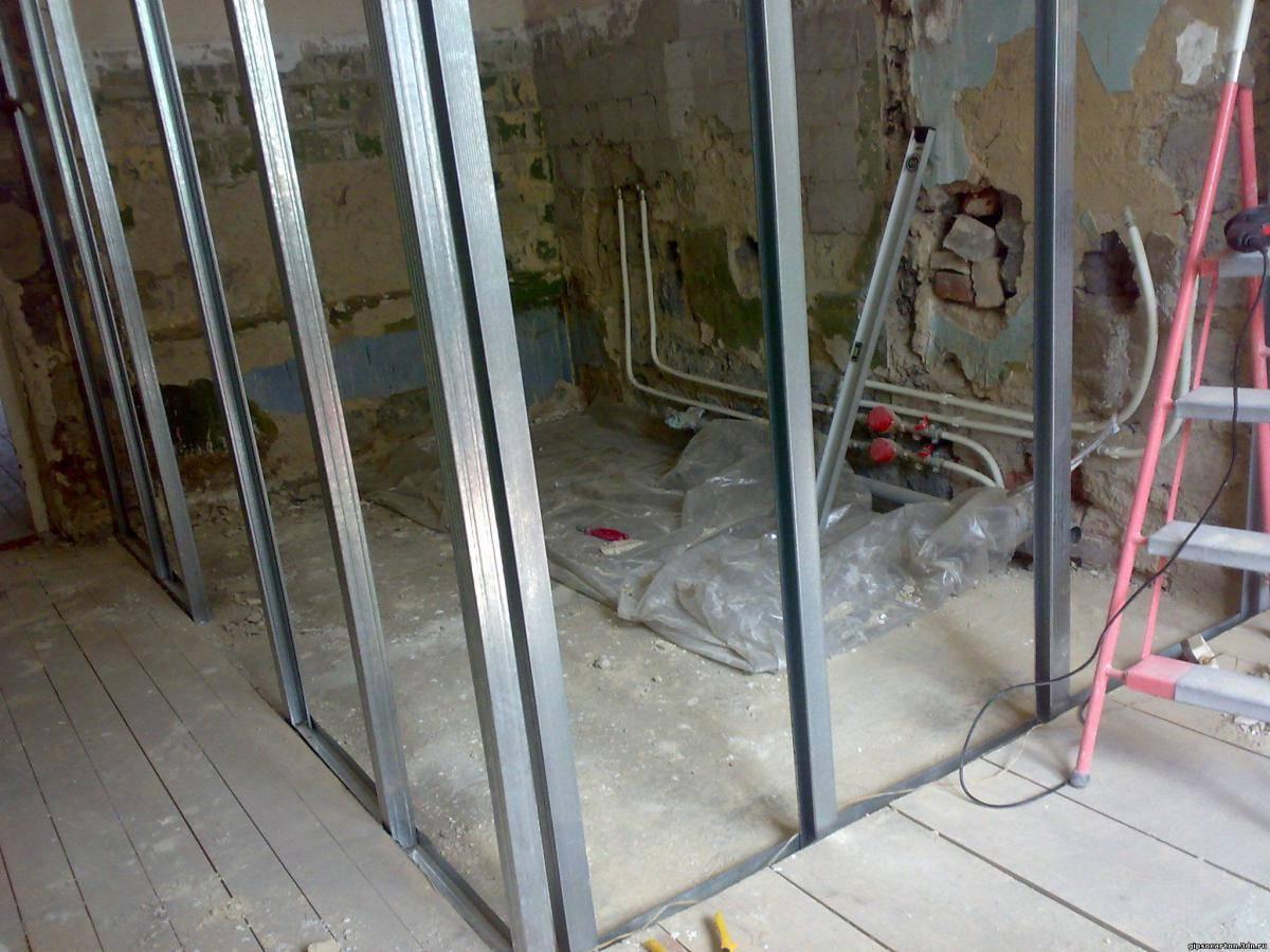 Перегородки из гипсокартона – особенности конструкции и правила установки своими руками (115 фото) – строительный портал – strojka-gid.ru