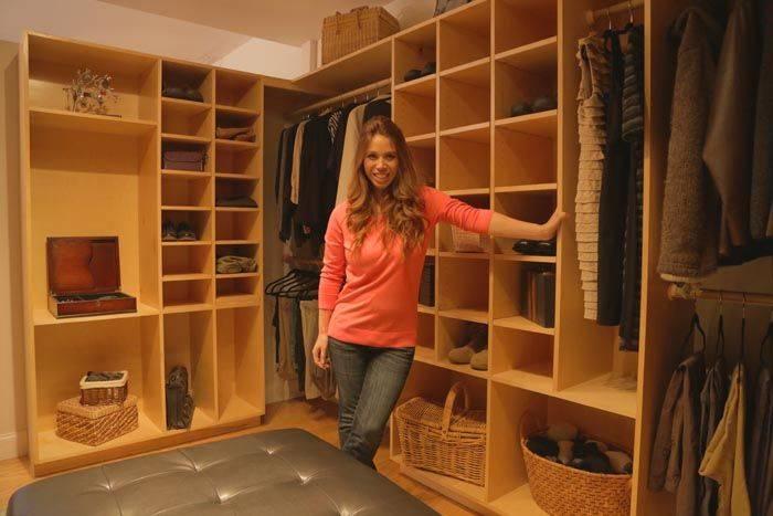 Чертежи, схемы и варианты дизайна для устройства гардеробных комнат своими руками