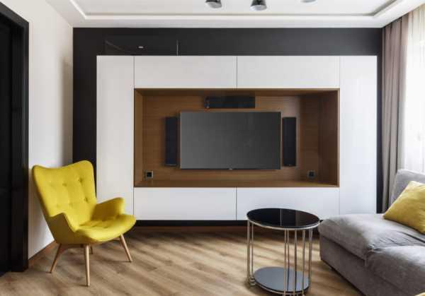 Сооружение ниши для телевизора из гипсокартона своими руками, фото