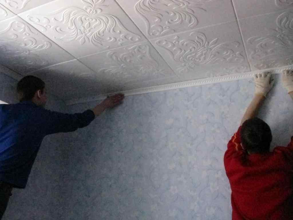 Потолок из пенопласта своими руками: декор для потолка из пенопластовых плит, отделка пенопластом, как сделать узоры