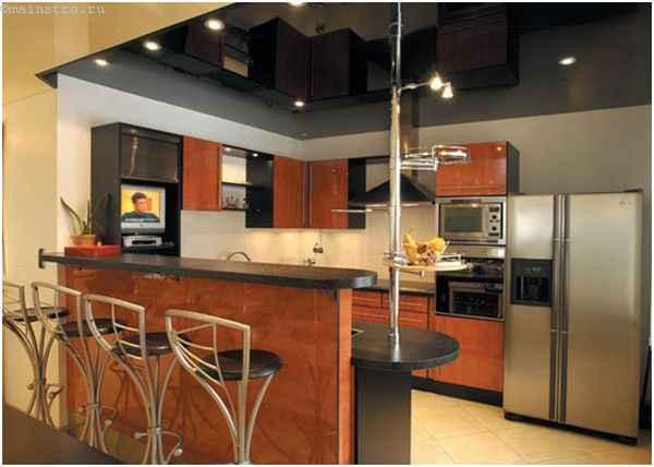 Натяжной потолок на кухне: стоит ли делать?