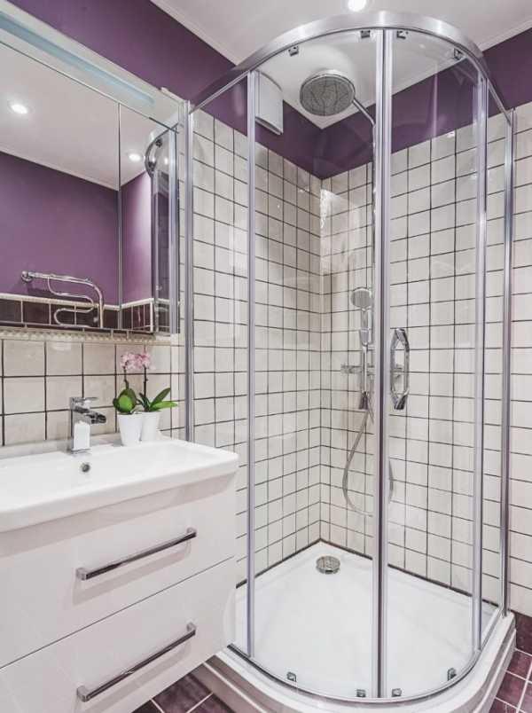 Совмещение ванной с туалетом – индивидуальный проект
