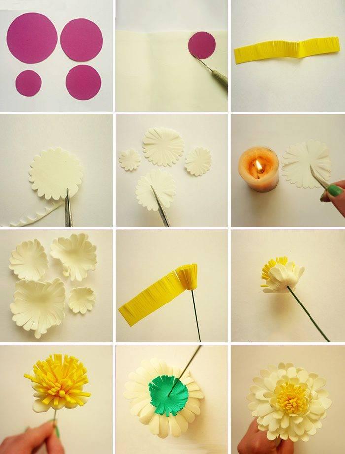 Цветы из фоамирана своими руками: пошаговое описание как сделать поделку, шаблоны и обзор самых красивых идей для новичков и мастеров!