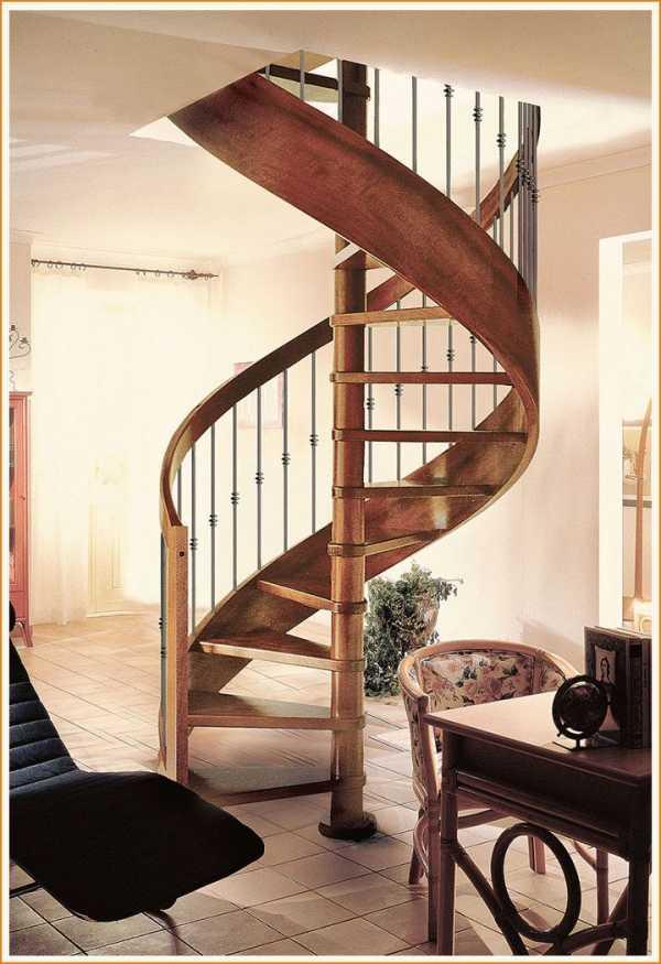 Винтовая лестница из металла своими руками — сложно, но можно