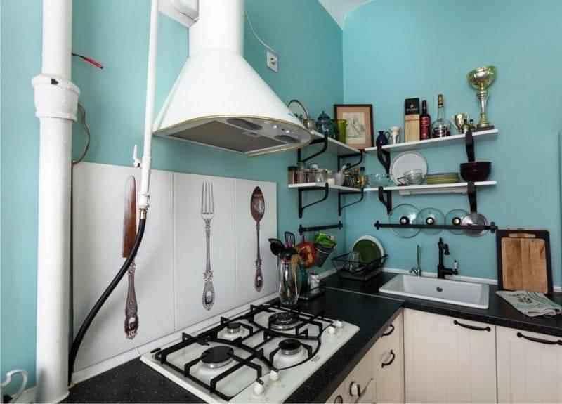 Дизайн кухни без верхних шкафов фото и описания