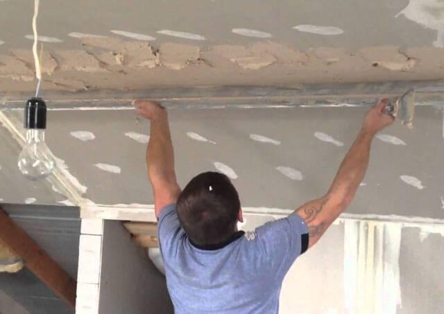 Штукатурные потолки - преимущества и недостатки
