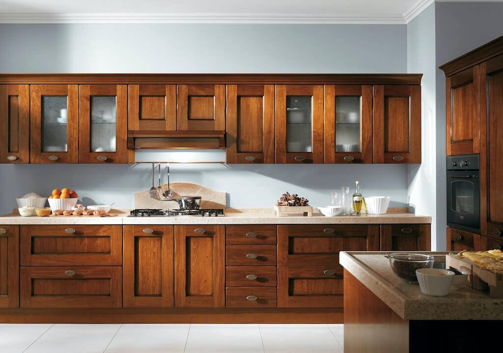 32 идеи для белой кухни с деревянной столешницей