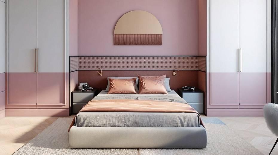 Дизайн спальной комнаты, тренды 2019 + 240 фото