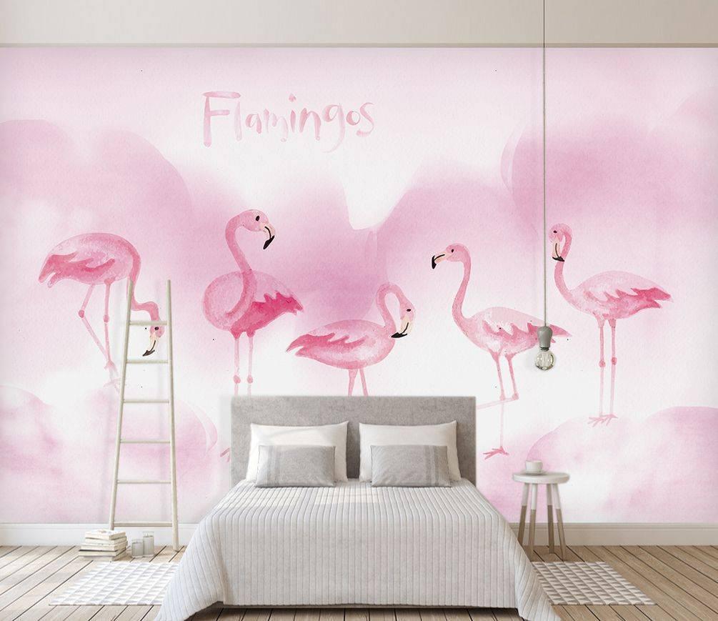 Принт недели: розовый фламинго – вдохновение