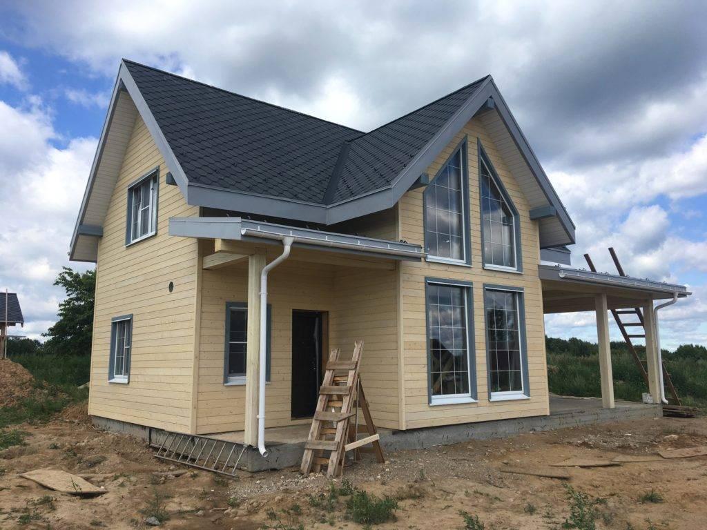 Проекты каркасных домов для круглогодичного проживания до 150 кв.м двухэтажные, с мансардой, фото новинок