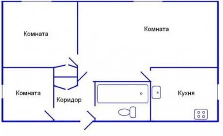 Дизайн четырехкомнатной квартиры: 60+ фото, 3 дизайн-проекта
