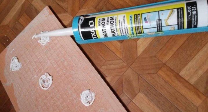 Жидкие гвозди для керамической плитки и дерева: состав и правила применения